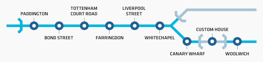 2 Crossrail Central Stations
