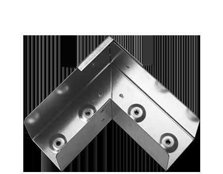 90˚ horizontal bend