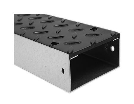 Chequer Plate Trunking - Armorduct Systems