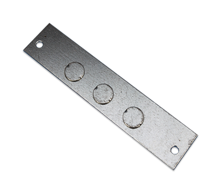 conduit side entry plate