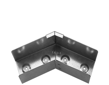 lighting trunking horizontal 45 bend armorduct systems