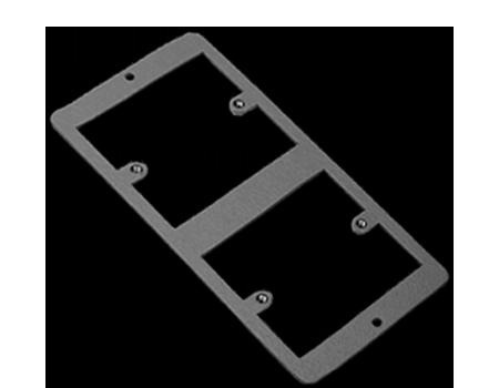 2 way single socket plate