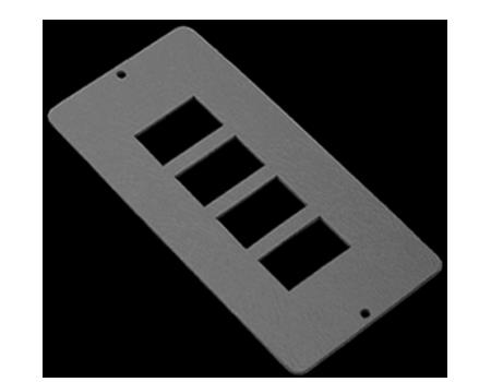 4 way RJ45 data plate