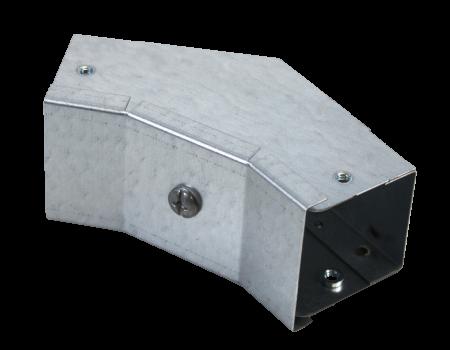 IP4X inside lid gusset bend 45˚