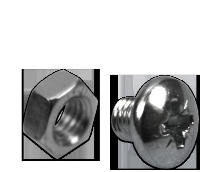 fixing screw & hex nut